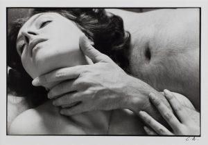 """Claude Alexandre (1940-2010). """"Sans titre"""". Photographie noir et blanc. 1981. Paris, musée d'Art moderne. Dimensions: 19,9 x 29,8 cm"""
