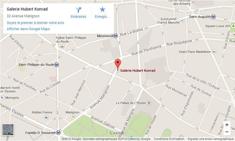 Plan Galerie Hubert Konrad
